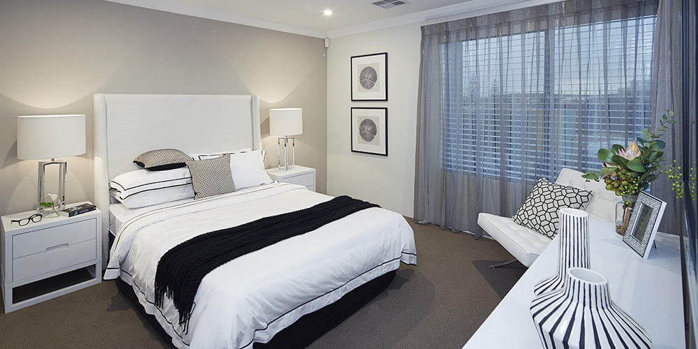 B1 Homes_The Luxe - Spacious master bedroom with walk-in-robe and ensuite