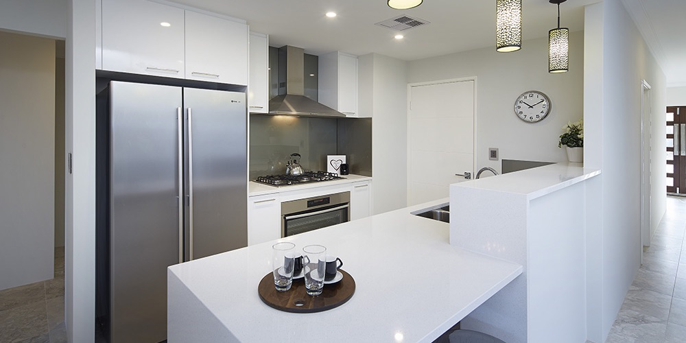 B1 Homes_The Meuse Display Home - stylish open plan gourmet kitchen