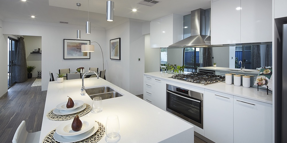 B1 Homes_The Oder - gourmet kitchen with walk-in-pantry and breakfast bar
