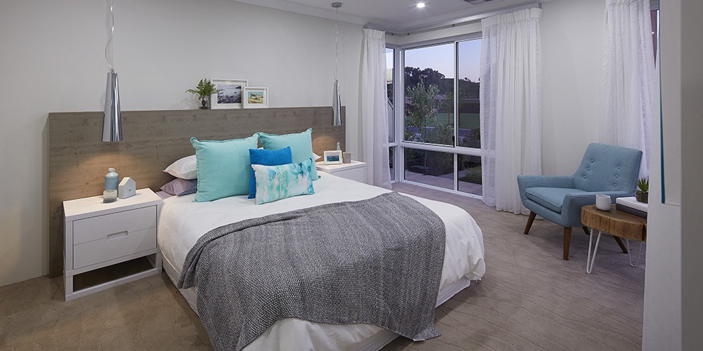 B1 Homes_The Purus Display Home - Master bedroom has been cleverly located towards the front of the home