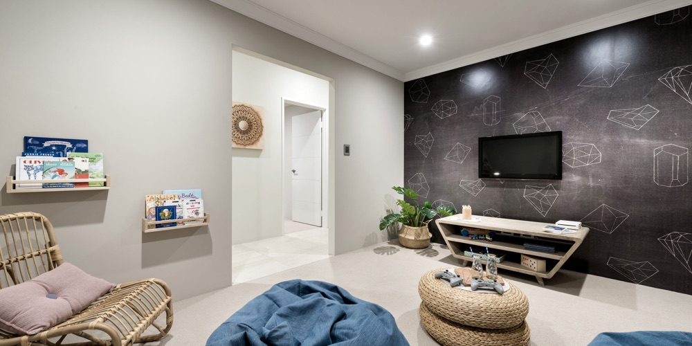 B1 Homes_The Thames Display Home - separate family Activity-Games room