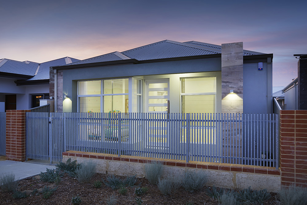 B1 Homes - The Dvina - 7.5m frontage, 3 bed, 2 bath, 2 garage - first home owner elevation