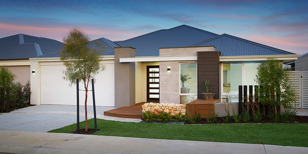B1 Homes - The Meuse Display Home - 15m frontage, 4 bed, 2 bath, 2 garage - first home owner elevation