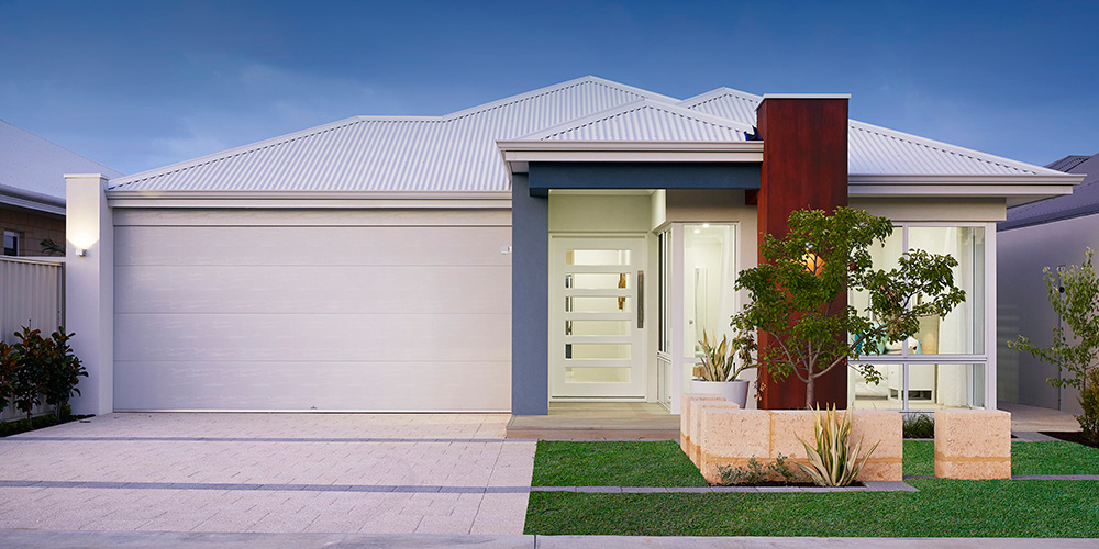B1 Homes - The Purus Display Home - 12.5m frontage, 4 bed, 2 bath, 2 garage - first home owner elevation
